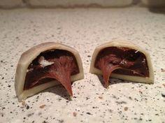 Lakrids trøfler i hvid chokolade