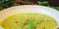 Vegan Green Soup Recipe