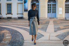 Erika Boldrin Street Style Fashion