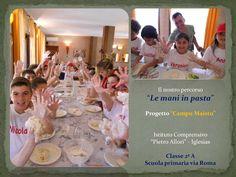 Le Mani In Pasta - Progetto Campu Maistu 2014/15