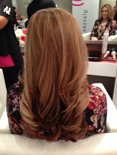 Simple blow out - hairstyle