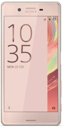 "Смартфон SONY Xperia X Performance Dual розовое золото  — 39990 руб. —  ОС Android 6.0, экран: 5"", IPS, 1920x1080, процессор: Qualcomm Snapdragon 820, 2200МГц, 4-х ядерный, камера: 23Мп,  GPS, ГЛОНАСС,  с защитой от пыли и влаги"