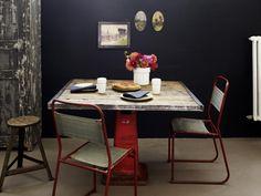 Möbel und Accessoires mit industriellem Look