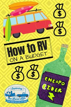 Don't have a ton of money, but still want to RV full time? Well, you can make your RV dreams come true and stay within budget. Find out how with some practical and easy RV budgeting tips! Travel Hack, Rv Travel, Travel Tips, Time Travel, Travel Trailers, Rv Organization, Organizing, Rv Hacks, Life Hacks
