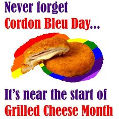Never forget Cordon Bleu Day... #EatnDrink http://ow.ly/10gWUJ