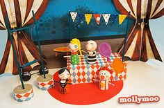 New Craft & Handmade Toy: Circus In My Pocket - MollyMoo - crafts for kids and their parents