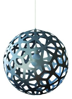 Coral Aluminum Pendant Lamp, by David Trubridge