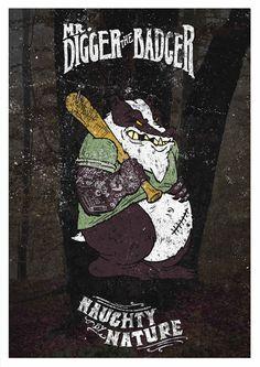 "Mr.Digger the Badger _ Danilo ""Sailor Danny"" Mancini"