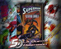 SUPERMAN MAN OF STEEL # 41 Comic de Jon Bogdanove $ 50.00 Para más información, contáctanos en http://www.facebook.com/la5aDimension