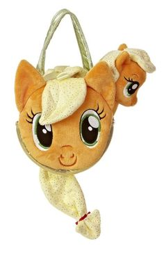 My Little Pony Applejack Carrier with 6.5-Inch Plush This mini My Little Pony Applejack Carrierand Applejack6.5 inch Plush Doll is perfect for your little one to show your love for MLP. They are off