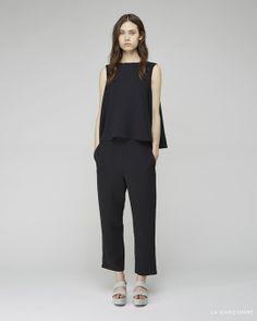 Rachel Comey / Poise Top Rachel Comey / Zeal Pant  Robert Clergerie / Frazzia Double Strap Platform Sandal