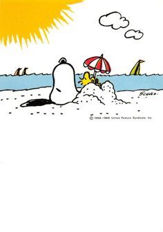 summer Snoopy & Woodstock on beach Snoopy Images, Snoopy Pictures, Snoopy Und Woodstock, Snoopy Love, Peanuts Cartoon, Peanuts Snoopy, Peanuts Characters, Cartoon Characters, Cartoon Network