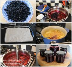 Making Blackberry and apple jam at Sea iew House in Doolin.