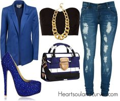 """""""A Little Glam"""" by adoremycurves ❤ liked on Polyvore"""