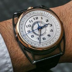 """De Bethune DB28 Maxichrono Watch Hands-On - by Ariel Adams - read more, see the captivating pictures (the back is at least as cool as the front): http://ift.tt/1UD8tYB """"The DB28 Maxichrono watch is De..."""