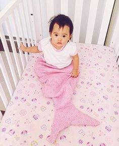 This little cutie makes us want to have an afternoon nap too - she looks adorable in our mermaid sleep sack! Regram from @meg_geronimo #PumpkinPatchKids