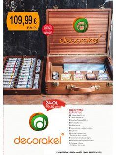 MALETIN CAJA DE OLEOS TITAN EXTRAFINO 40X30 CM Pvp, Fine Art, Store, Crates, Paintings, Home