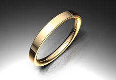 Alianza de oro rojo de 18K modelo Formad minimal Ref.: 750ROJ19FORMADOro rojo de 18Kmodelo Formad minimal. #bodas #alianzas #novia | cnavarro.com
