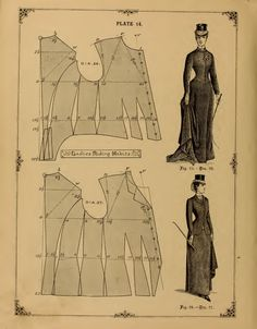 (Sewing In Walden): Ladies' Riding Habits (1890)