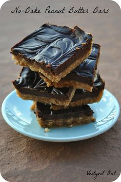 The China Study Cookbook: Review and Giveaway plus No-Bake Chocolate Peanut Butter Bars Recipe!