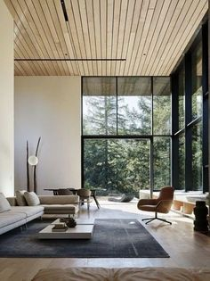 40 Luxury Living Room Design Ideas With Modern Accent New Living Room, Interior Design Living Room, Living Room Designs, Living Room Decor, Interior Livingroom, Bedroom Decor, Contemporary Interior Design, Modern House Design, Contemporary Houses