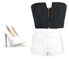 """""""Untitled #69"""" by jalaya06 on Polyvore featuring Balmain and Topshop"""