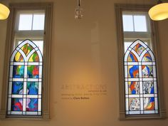 """Abstractions"" at Aurora Cultural Centre"