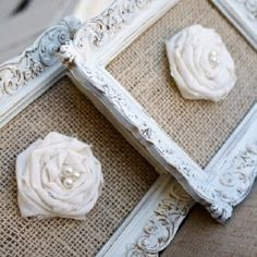 burlap crafts | Burlap frame | Craft Ideas/DIY