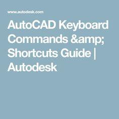 autocad shortcut key guide pdf