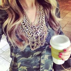 Love this necklace! The Courtney Bib Necklace   BaubleBar