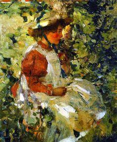 Alice by Edward Arthur Walton (Scottish 1860-1922)