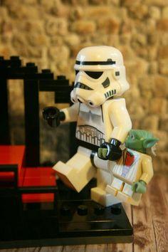 #StormTrooper #StarWars #LEGO