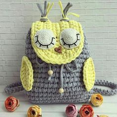 27 Ideas Crochet Basket Pattern Tshirt Yarn How To Make Knit Headband Pattern, Crochet Basket Pattern, Crochet Patterns, Sac Halloween, Halloween Crochet, Crochet Handbags, Crochet Purses, Crochet Flower Headbands, Crochet Shell Stitch