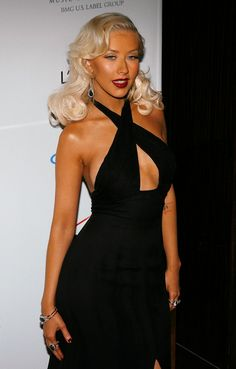 Christina Aguilera Photos: Clive Davis Pre-Grammy Party - Arrivals