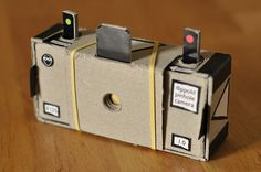 Francesco Capponi (Dippold on Flickr) has a fun printable template for creating your own nifty-looking 35mm pinhole camera. All you need to do is print out