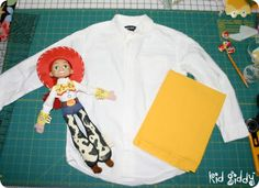 How to make a jessie outfit instead of spending $150 at the disney store :)