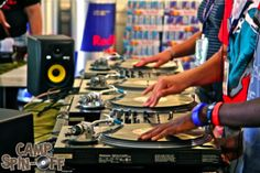 """Camp Spin Off- DJ Camp with DJ Tina T- What an AMAZING and fun Summer Camp for teens!  This blows pine cone birdfeeders and """"name-that-poop"""" hikes out of the water."""