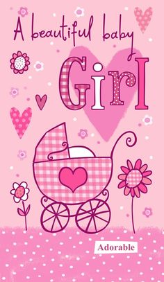 Ideas For Baby Girl Congratulations Quotes Gift Ideas Baby Girl Clipart, Baby Shower Clipart, Baby Clip Art, Baby Art, Baby Quotes, Gift Quotes, Quotes Kids, Congratulations Baby Girl, Baby Boy Themes