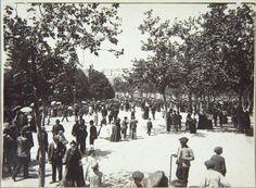 Título:    Parque del Retiro  Fecha:    Ca.1910