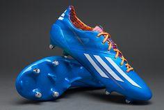 adidas Football Boots - adidas F50 adiZero XTRX SG - Soft Ground - Soccer Cleats - Solar Blue-Running White-Solar Zest #pdsmostwanted