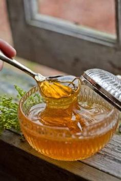 7 Amazing Benefits And Uses Of Honey/ Facial mask –  1 teaspoon honey (preferably raw honey) 1 teaspoon olive oil Yoke of an egg  Exfoliator recipe  Combine honey, lemon juice and then add sugar. Rub on your skin (be gentle don't bruise your skin) leave it for about 10-15 minutes and rinse with warm water.   Honey cleanses your skin, Lemon juice brightens your skin and sugar is an excellent exfoliator.