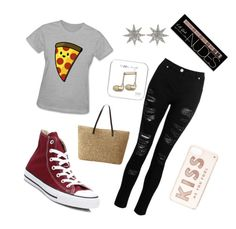 """""""Love"""" by laurozic on Polyvore featuring Mode, Converse, Kate Spade, Bee Goddess und Charlotte Russe"""
