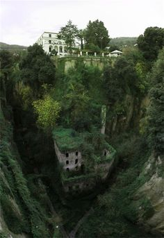 """Deep Valley of the Mills""  Sorrento, Italy"