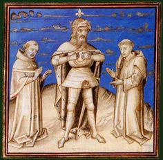 Charlemagne  Vincent de Beauvais, Le Miroir historial, XVe siècle, Belgique (Bruges) Paris, BnF, département des Manuscrits, Français 310 fol. 361v