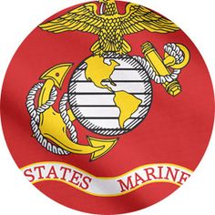 The U.S Marine flag or the United States Marine Corps is used to represent its subsidiary units and formations that was adopted on January 18, 1939. The official flag is scarlet, with the Corps emblem in grey and gold in the middle. Although the standard flag carried by the Marines during the 1830s and 1840s consisted of a white field with a gold fringe, and bore an elaborate design of an eagle, anchor, and globe and is a powerful part of the Marine Corps flag history.