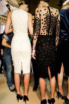 "Backstage at Stella McCartney ""Paris Fashion Week""      Backstage at Stella McCartney, Paris Fashion Week."