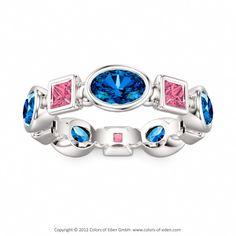 Silver Ring Gloriola at Colors of Eden #Swarovski