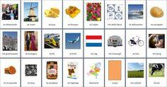 Grote themakaarten voor het thema nederlanders, we hebben voor vele thema's grote en kleine themakaarten op de website van Juf Milou.