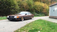 Audi 100  #audi #audi100 #audic3 #richtigflach #airride #streetec #nullbar #bilsteinsuspension #viaircorp