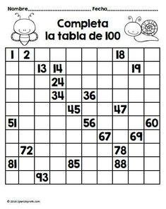 April math worksheet for centers, activities, morning work and review for students in first-grade Spanish immersion, bilingual and dual language classes. Sumar, restar, contar, mayor que, menor que, etc.
